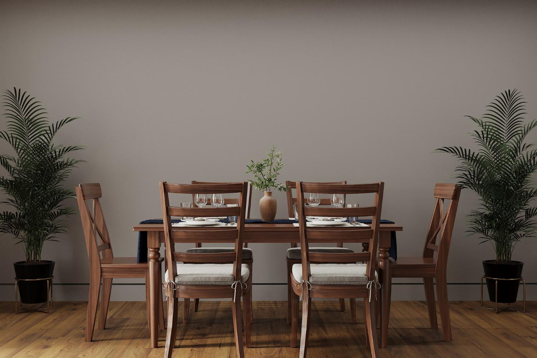 Czy krzesła powinny być w kolorze stołu?