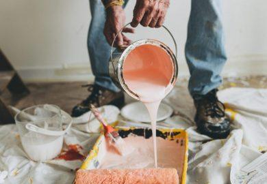 Rodzaje farb do ścian – przygotowania do malowania!